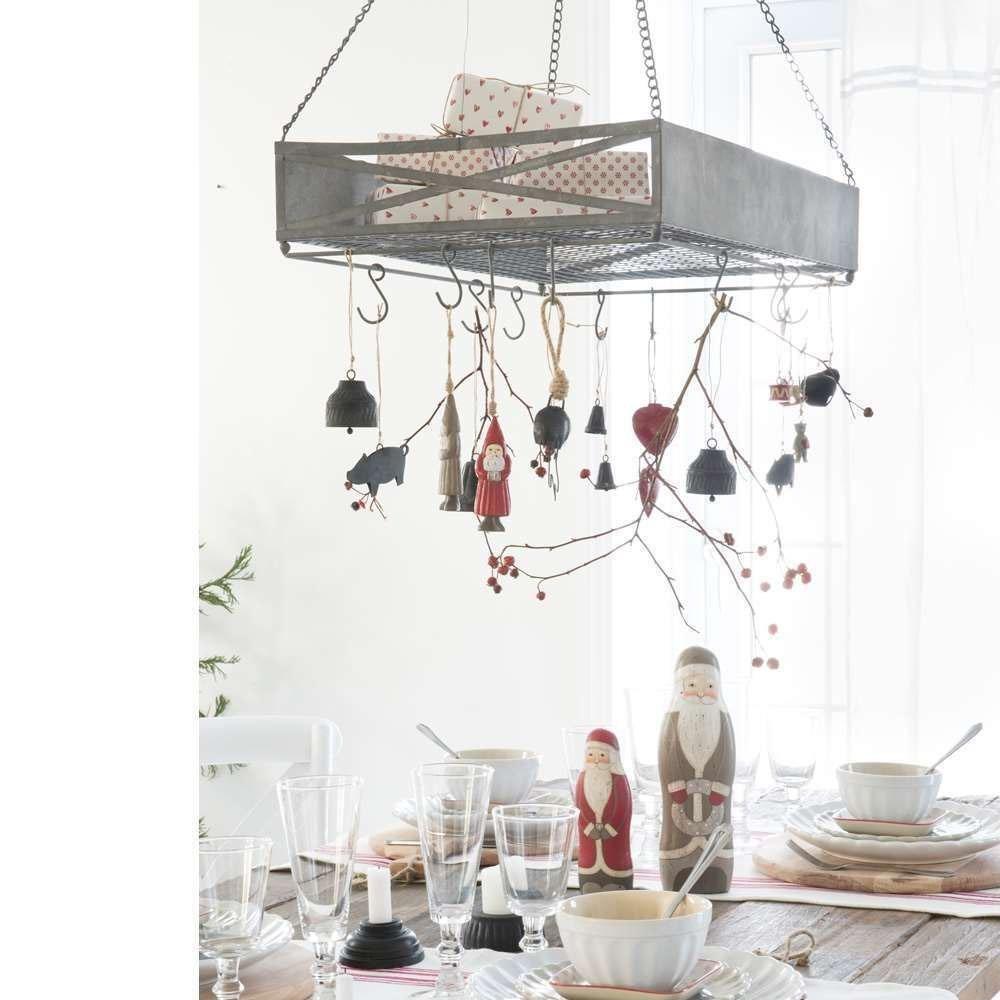 k chen regal h ngeregal mit haken metall ib laursen. Black Bedroom Furniture Sets. Home Design Ideas